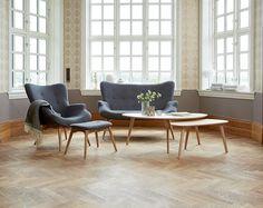 Τραπέζι μέσης LEJRE 60x120 cm δρυς