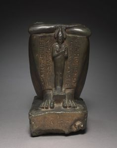 Block Statue of the Royal Acquaintance, Horwedja, 664-525 BC Egypt, Late Period, Dynasty 26  graywacke