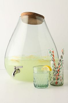 Bubbled Beverage Dispenser - anthropologie.com #anthrofave