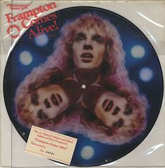 For Sale - Peter Frampton Frampton Comes Alive! USA  picture disc LP (vinyl picture disc album) - See this and 250,000 other rare & vintage vinyl records, singles, LPs & CDs at http://eil.com
