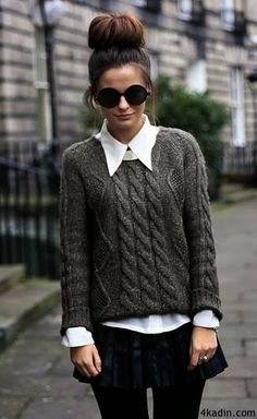 So, let's talk about some cute preppy fall outfits for the smart and sassy look- and don't EVER forget. Preppy is sexy too! Looks Street Style, Looks Style, Teenager Mode, Moda Fashion, Womens Fashion, Preppy Fashion, Asos Fashion, Teen Fashion, Teenager Fashion