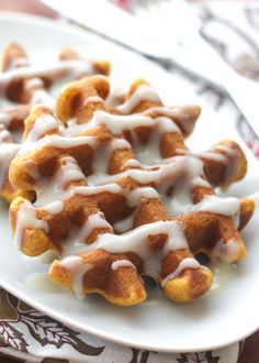 Pumpkin Spice Waffles - gluten free and traditional recipes included