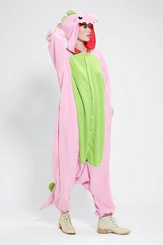 e999e5821660 Kigurumi Dinosaur Costume. Animal Pajamas ...