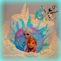 Disney Frozen taart