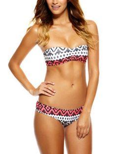 Patterned bikini