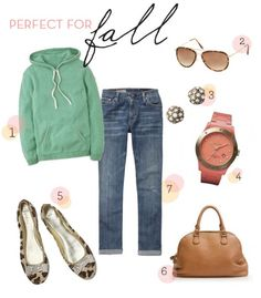 Or spring... I love this casual look.
