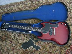 Gibson Les Paul Jr Vintage Original SG Body Style Early 1960's
