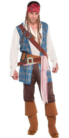 Jack Sparrow Costume for Adults - Party City