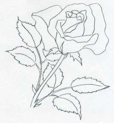 Rosen bleistiftzeichnung  rose als bleistiftzeichnung | malen | Pinterest | Bilder zum ...