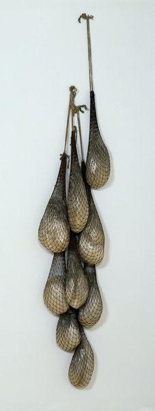eva hesse sack sculpture - Google Search