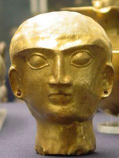 Sumerian Statue or an alien?