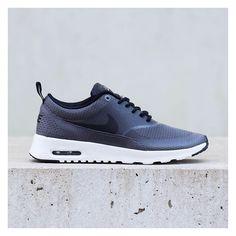 """Nike Air Max Thea """"Textile Pack"""": Dark Grey/Black/White"""