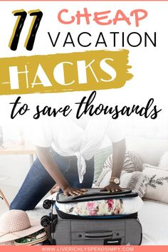 Are you looking for some cheap vacation ideas for your family? Read 11 cheap vacation ideas that will save you thousands! Vacation Ideas, Need A Vacation, Vacation Games, Vacation Savings, Vacation Pics, Money Saving Mom, Thing 1, Cheap Travel, Budget Travel