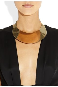 YSL purefly gold-tone necklace, If only i were a member of the itty bitty titty comittee