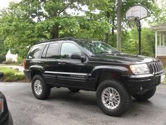jeep cherokee lifted | LIFTED JEEP Grand Cherokee! Must SEE!~~