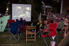 Back yard movie