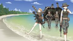 Comic Pictures, Manga Pictures, Pictures To Draw, Anime Military, Military Girl, Character Portraits, Character Art, Cute Cartoon, Cartoon Art