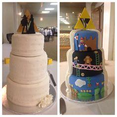 Nintendo Wedding Cake