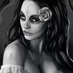 Sugar skull/day of the dead