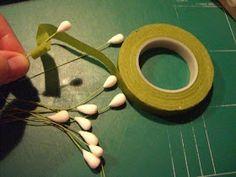 Lily of the valley tutorial. Jeg er flere gange blevet spurgt om en tutorial / how-to /arbejdsbeskrivelse på liljekonvaller..  så her komm...