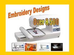 8,500+ PES Designs for Brother Embroidery Machines Design Library
