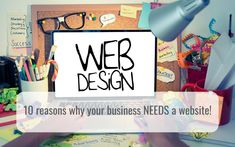 10 reasons why your business needs a website! Best Hairdresser, Create Your Own Story, Medium Blog, Social Proof, Google Search Results, Social Icons, Up And Running, Goods And Services, Business Website