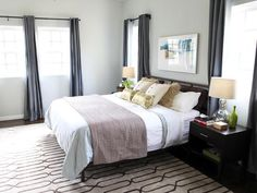 Give Your Room a Mini Makeover - Under $200 Bedroom Updates From Design Experts on HGTV
