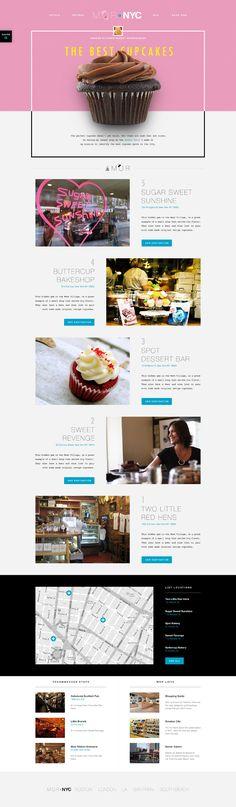 244 Best Restaurant Websites Images On Pinterest Website Layout
