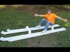 Building a PVC Raft - DIY - YouTube
