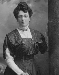 Lucy Maud Montgomery author of Anne of Green Gables, and one of my favorite female authors.