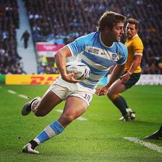 PRESSING ON @unionargentina continue to push back at @wallabies in this second half 15-22 after 55 minutes. @unionargentina gaining territory & looking sprightly #ARGvAUS #wallabies #vamospumas #RWC2015
