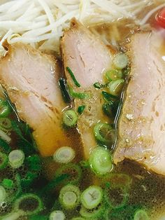 Slow-Cooker Pork and Ramen Soup of _ Use chopsticks to eat the noodles & then slurp the super-satisfying broth straight from the bowl. Although this dish is more complicated than your average ramen dish, it's totally worth it Quick Recipes, Pork Recipes, Asian Recipes, Crockpot Recipes, Recipies, Oriental Recipes, Healthy Recipes, Ramen Noodle Recipes, Ramen Noodles