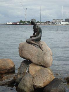 Hans Christian Andersen Little Mermaid Statue