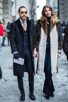 New York Fashion Week Street Style - February 15 2015 - RTW Fall Winter 2015