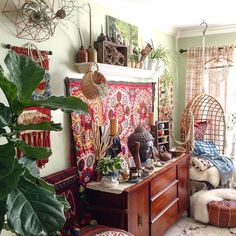 I was tagged by the sublime Kate from @salvagedior to share for #wednesdaywalldecor. As you can see my walls are often filled to the brim because I love pattern and texture and wall hangings bring it This boho maximal space also gives me the opportunity to tag a few more #smallshops for #howyouhome.