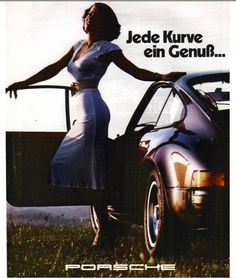 "Porsche Ad 1970's - ""Enjoy every curve..."""