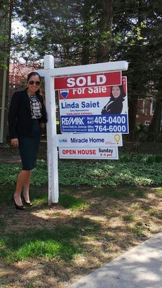 Sold! Another Happy Seller! #Linda Saiet REMAX AGENT THORNILL REAL ESTATE