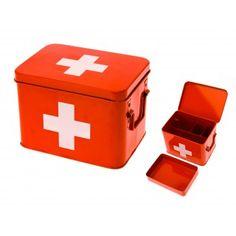 Caixa para Remédios Primeiros Socorros
