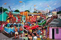 MOKÉ Monsengwo Kejwamfi - SANS TITRE Times Square, Places To Visit, San, Paintings, Paris, Travel, Things To Sell, Abstract Backgrounds, Montmartre Paris