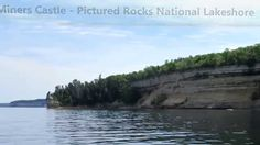 """""""Miners Castle"""" Pictured Rocks National Lakeshore (Water)"""