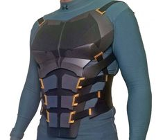 DIY Batman Justice League Chest Foam Armor Tutorial Kit - Includes Patterns, Tutorial Videos, and Materials List DIY Batman Justice League Chest Foam Armor Tutorial Kit Nightwing Cosplay, Batman Cosplay, Batman Armor, Batman Suit, Batman Batman, Armadura Do Batman, Cosplay Diy, Cosplay Costumes, Armadura Cosplay