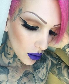 Jeffree Star's makeup is beyond perfect. ♥