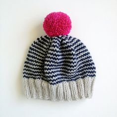 #cute #baby #hat #knit #wear #winter