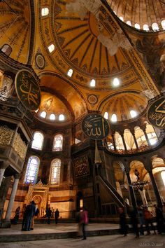 The Hagia Sophia in Istanbul. One of the most beautiful buildings I've ever seen. Amazing Architecture, Art And Architecture, Byzantine Architecture, Beautiful World, Beautiful Places, Beautiful Kids, The Places Youll Go, Places To See, Religion