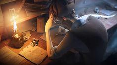 Sang d'Encre by Bellecour 3D. Film de fin de Bachelor Infographie 3D 2012 de Bellecour Ecoles, Art Design & Entertainment (http://www.bellecour.fr). Réalisé par Tom Gouill, Jeoffrey Lavanche et Mélanie Tournois.