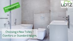 Choosing a New Toilet - Comfort or Standard Height