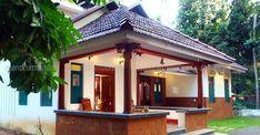 House Exterior Design Traditional Home Plans Super Ideas Village House Design, Bungalow House Design, House Front Design, Modern Bungalow, Kerala Traditional House, Traditional House Plans, Indian Home Design, Kerala House Design, Chettinad House