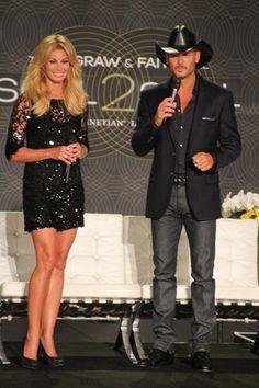 Faith Hill and Tim McGraw. FabulousBuzz.com #CelebrityCouples #FaithHill #TimMcGraw