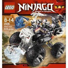 LEGO 2506 Ninjago Skull Truck 515 Pieces Retired Set New