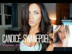 ▶ Candice Swanepoel Inspired Makeup Tutorial - YouTube